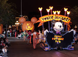 halloween party throw down disney world vs disneyland the