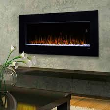 Fire Sense Electric Fireplace - 10 amazoncom fire sense black wall mounted electric fireplace home