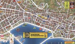 Thessaloniki Greece Map by Zakynthos Town Map Zakynthos Town Zakynthos Greece U2022 Mappery
