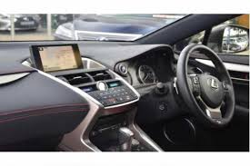 lexus sport 2014 used 2014 lexus nx 300h 2 5 f sport 5dr cvt nav for sale in