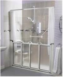 Disabled Half Height Shower Doors Caregiver Half Height Shower Doors United Disabilities Services