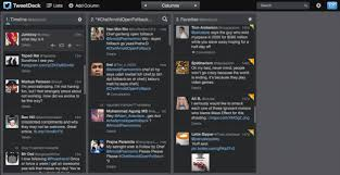 tweetdeck android tweetdeck api development stopped what does this for