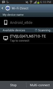 android wifi direct how to play media files on smart tv with wifi direct android