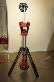 milwaukee m18 trueview led stand light milwaukee m18 stand light and led high power floodlight
