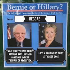 Reggae Meme - reggae bernie or hillary know your meme