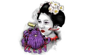 6 mysteriously beautiful geisha tattoo designs for women