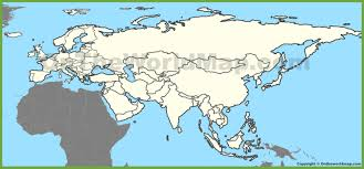 Map Of Jamaica Blank by Blank Map Of Eurasia