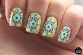 hey darling polish nail art a go go day 27 pointillism