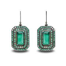 emerald earrings uk emerald earrings