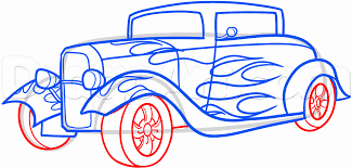 classic cars drawings how to draw a rod step by step cars draw cars online