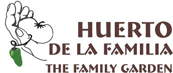 Family Garden Menu - huerto de la familia food booth and weekly menu