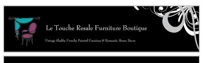 Resale Home Decor Le Touche Boutique Welcome