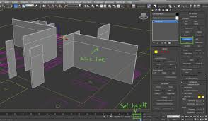 Home Design 3d Wall Height Import 2d Plans Into 3d Application The Right Way Arch Viz Camp