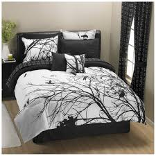 bedding set dark gray bedroom with recessed shelving also