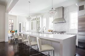 No Upper Kitchen Cabinets Long Island Windows Flanking The Range With No Upper Cabinets
