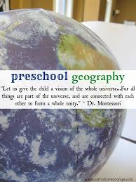 easy montessori geography activity for preschoolers land forms