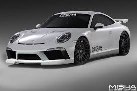 widebody porsche boxster misha designs u2013 porsche 991 body kit unveiling in iforged