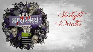 Halloween Wreathes Scary Halloween Wreaths Youtube