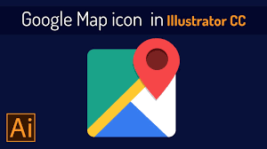 Google Maps Icon How To Create Google Map Icon In Illustrator Cc Youtube