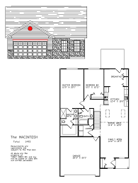 Two Car Garage Floor Plans by Olde Orchard Hill Floor Plans Yingst Homes