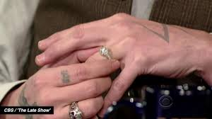 miranda lambert engagement ring johnny depp talks engagement ring on u003cem u003elate show u003c em u003e after