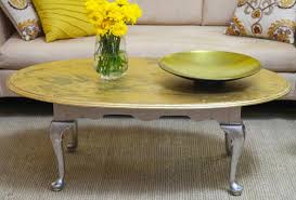 gold leaf coffee table diy gold leaf coffee table p g everyday p g everyday united