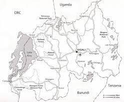 Map Of Rwanda Introduction To Rwandan Geography