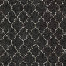 nourtex amore trellis color charcoal 13 ft carpet 282903 the