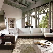 Hokku Designs Coffee Table Hokku Designs Baxton Sectional Kui1755 Modern Sectional Sofas