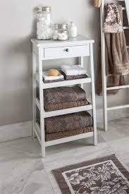 White Wooden Bathroom Furniture Bathroom Furniture Bathroom Storage Shelf Ideas Feature White