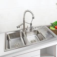 Cheap Kitchen Sinks by Online Get Cheap Double Bowl Undermount Kitchen Sink Aliexpress