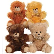 teddy bears bulk plush sitting bears 9 at dollartree