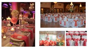 coral colored decorations coral wedding decorations to make