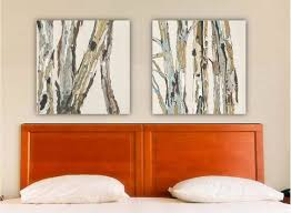 greige neutral extra large wall art diptych set canvas print