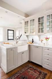 gray and white kitchen cabinets light gray kitchen cabinets transitional kitchen terracotta studio