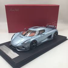 koenigsegg pink avanstyle koenigsegg regera resin scale 1 18 sealed model
