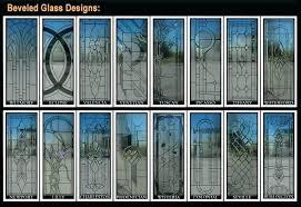 Exterior Glass Door Inserts Leaded Glass Front Doors Stained Glass Front Door Inserts Custom