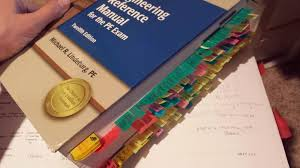 how do you tab and mark up your civil engineering reference manual