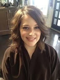 hairstyle brunette medium length shoulder length hairstyles