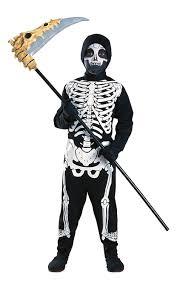 Halloween Skeleton Cartoon Kids Halloween Skeleton Costume Amazon Co Uk Toys U0026 Games