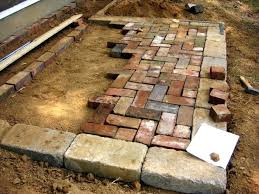 Patio Designs Cheap Patio Blocks Brick Patio Designs Brick Patio With Pit