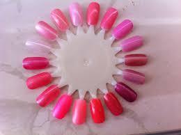 Pink Color Wheel by Fairyana My Nail Polish Stash Pink