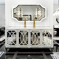 white dining room buffet elegant mirrored sideboards buffet cabinet sideboard high end