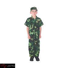 kids army costume ebay