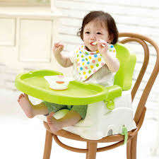 booster seats for dinner table babyyuga fold portable baby dining chair tray booster seat