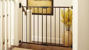Baby Gate For Banister And Wall North State Swing Door Stairway Baby Gate 28 U0027 U0027 48 U0027 U0027 Walmart Com