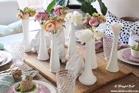 Easter Table Setting Easter Table Decor With Soft Spring Touches