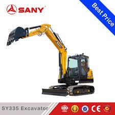 sany sy335 35 ton medium metal rc hydraulic excavator for sale