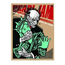 pearl jam 2003 uniondale poster u2013 ames bros