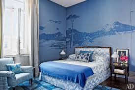 Bedrooms With Blue Walls Bedroom Decorating Inspiration Soothing Shades Of Blue Photos